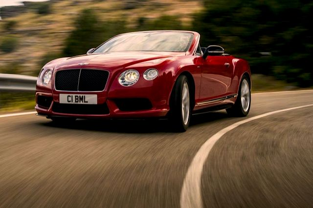 Yeni Bentley V8 S'leri